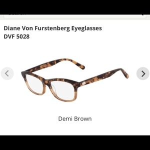 DVF OPTICAL GLASSES. Discontinued